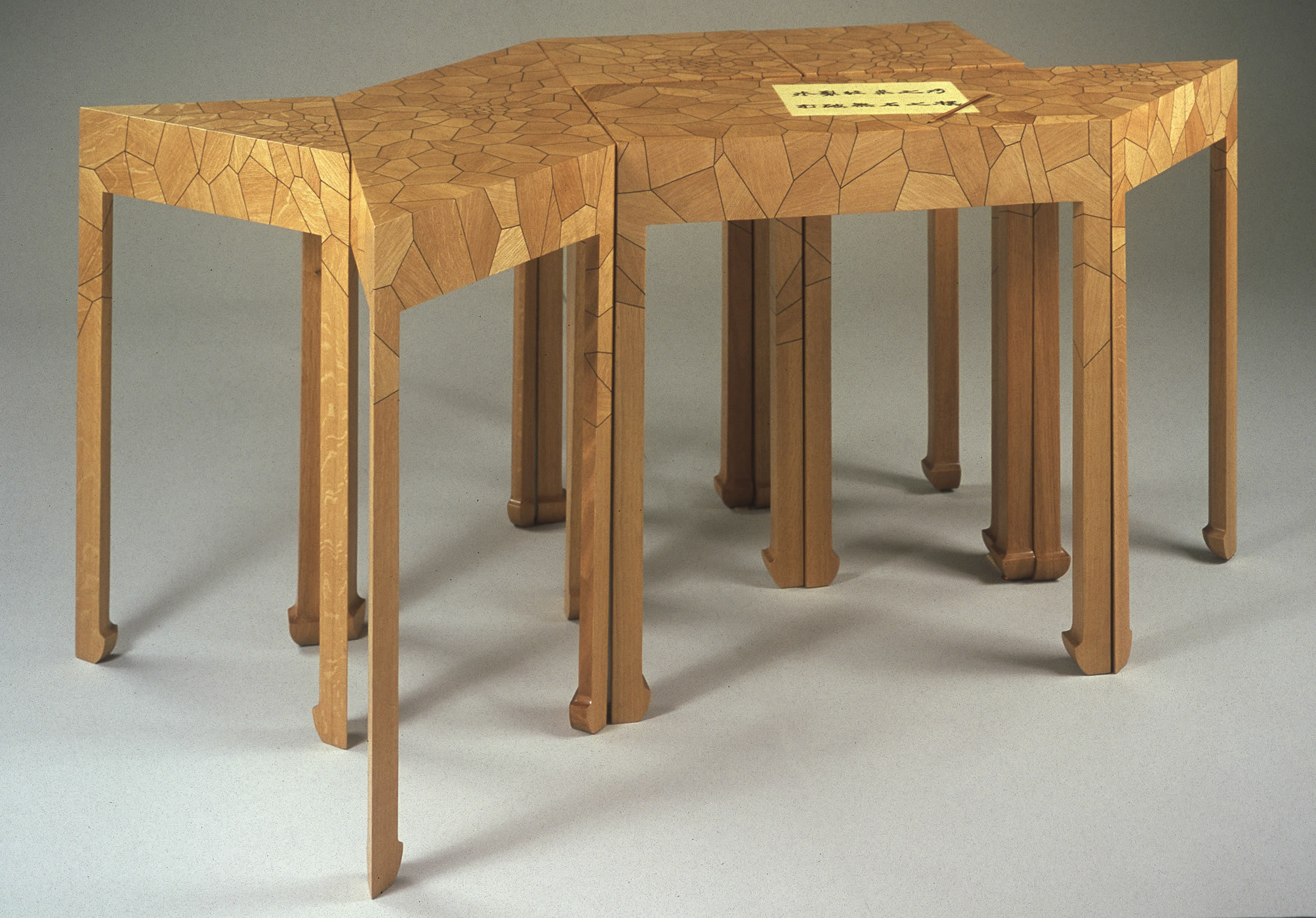 White Oak, Rosewood, And Marquetry