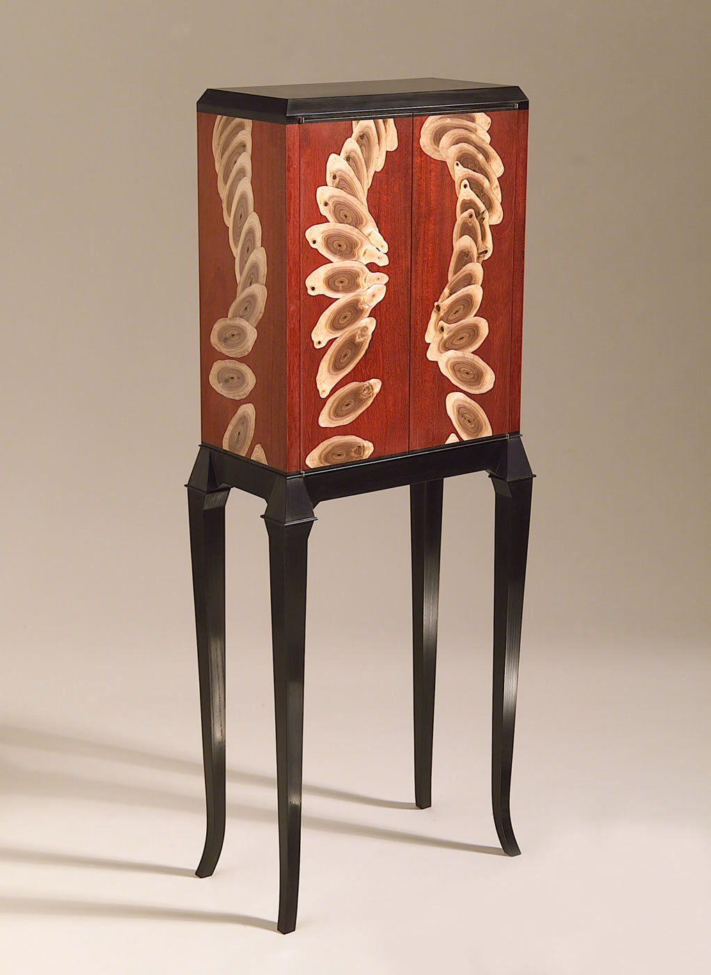 Cabinets – Silas Kopf Woodworking – Inlaid Wood Marquetry ...