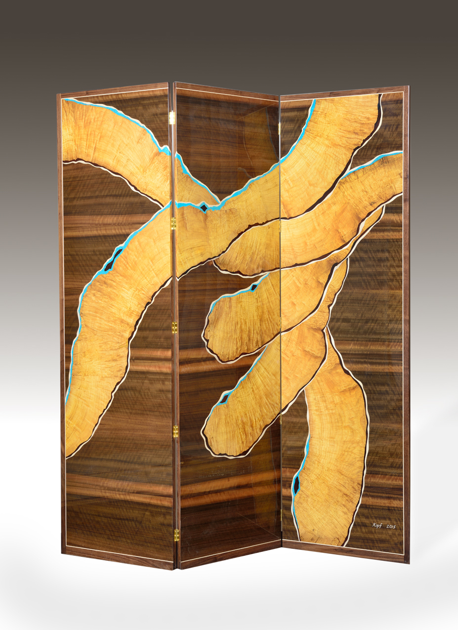 "Laurel, Satinwood, Turquoise, Holly, Rosewood   79"" X 73"""