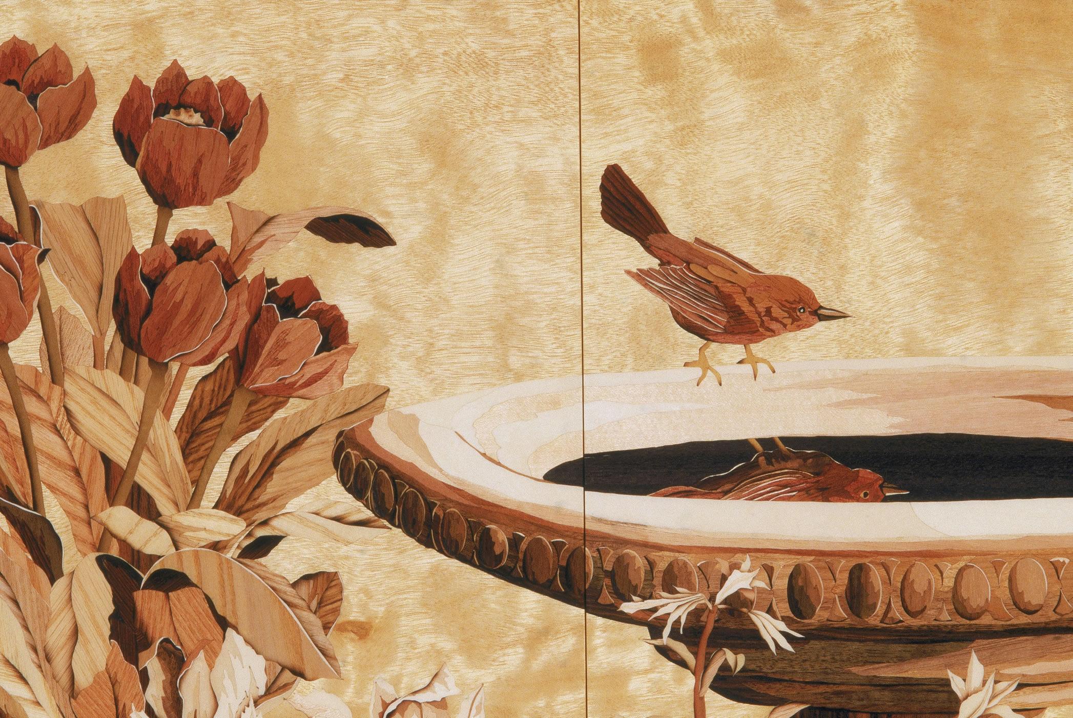 """Detail, """"Garden Cabinet"""""""